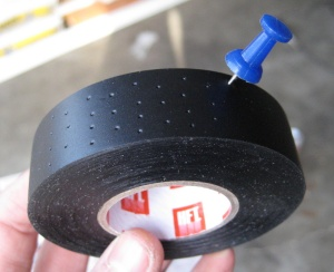perforating electrical tape