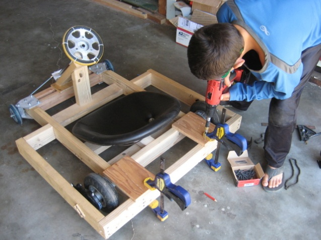 adding motor mounting plates