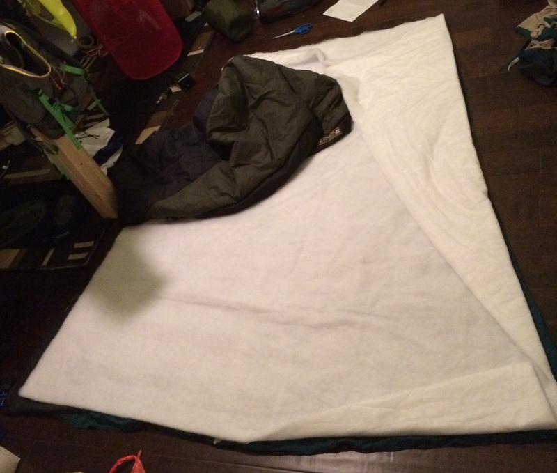 sleeping bag and compression sack