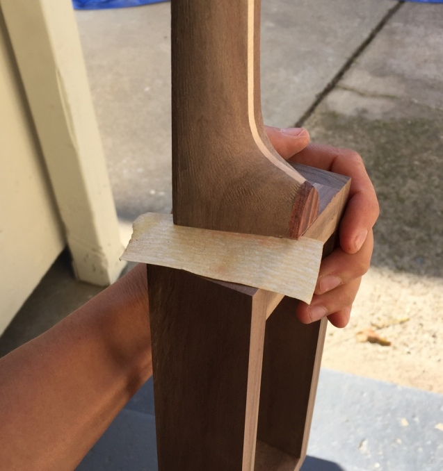 sanding to fit
