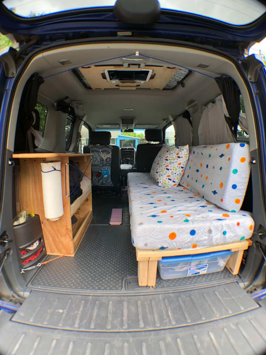 Honda Element Camper Amy Qian